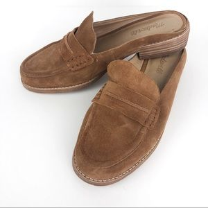 MADEWELL The Elinor Loafer Mule Chestnut 8.5